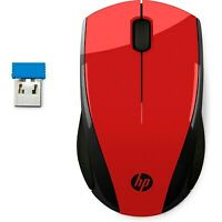 HP Wireless Mouse X3000 | Red | 2HW69AA#ABL