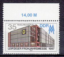 """DDR,(PF) 3080  Plattenfehler, """"N"""" von Neubau gebrochen,  postfrisch,siehe Scan"""
