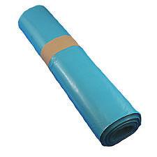 250 Müllsäcke 120 Liter,Blau ,Typ 60 ,70x 110cm ,Müllsack,Müllbeutel, Abfallsack