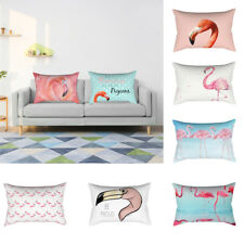 30x50cm Pillowcase Pillow Cushion Case Cover Flamingo Design Home Decor Novelty