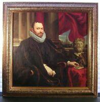 Original Oil Painting Renaissance Gentleman