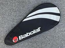 Babolat Black & White Tennis Racket Cover W/ Red Logo