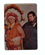 Chief Jay Strongbow & Haystacks Calhoun Autographs WWWF w/COA