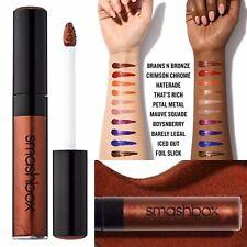 New Smashbox Be Legendary Liquid Metal Lipstick Brains n Bronze $24