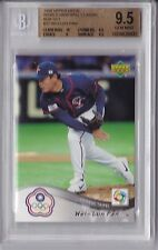 2006 Upper Deck World Baseball Classic Wei-Lun Pan Graded BGS 9.5