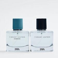 ZARA VIBRANT LEATHER & VIBRANT LEATHER SUMMER Eau de Parfum Herren SET