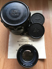 Júpiter - 8 50mm f/2, m39 para Leica (copia de Carl Zeiss sonnar 2/50)