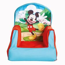 MICKEY MOUSE CLUBHOUSE COSY CHAIR BOYS BEDROOM FURNITURE NEW