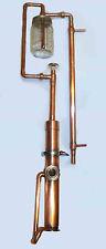 """Beer Keg 2"""" Tri Clamp Alcohol Still Mason Jar + Copper Thumper Triple Distiller"""