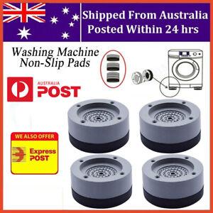 4pcs Anti Vibration Feet Pad Mats Washing Machine Non Slip Shock Proof Aus