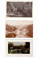 Lot 118: 3 AK PK  Fotokarten Landschaften Flüsse Seen Berge ungelaufen vor 1945