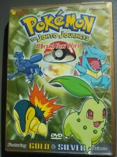 Pokemon: The Johto Journeys - A Brand New World (DVD, 2001)