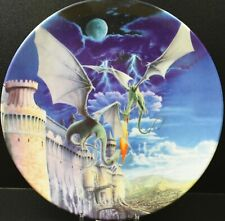 Royal Worcester Dragons of the Four Realms Plate ~ Guardian of the Kings Castle