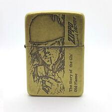 Zippo 1941 Soldier BA Lighter Genuine Original Packing 6 Flints set Free GIFT