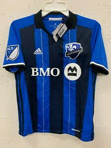 ADIDAS MLS TEAM JERSEY MONTREAL IMPACT BLUE YOUTH size XL