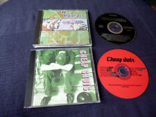 2 CDs HARDCORE Cheap Shots & Free Yourself OX Millencolin Lagwagon Refused Sober