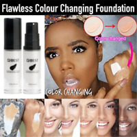 Flawless Color Changing Cover Concealer Foundation Base Makeup Face Skin Care