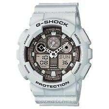 CASIO G-SHOCK MENS WATCH GA-100LG-8A FREE EXPRESS GREY GA-100LG-8ADR DIGITAL