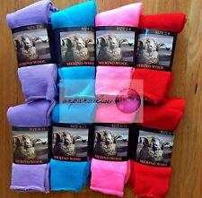 6 Pairs Top Quality 90% Merino Wool SUPER SOFT WARM Dress Work Socks