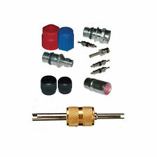 A/C System Valve Core and Cap + Schrader Remover Kit fit Buick Century MT2902