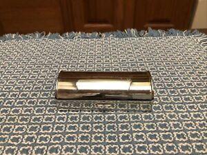 """Vintage Reed Barton 721 Travel Sewing Kit Hinged Rare Case 3 3/4"""" X 1/3/4"""""""