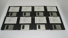 Microsoft Windows 3.1 Operating System on 3.5 Floppy Disk Set 8pcs - Untested