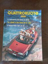 Quattroruote n 442 agosto 1992 - Jaguar XJS convertible, Mercedes 300CE