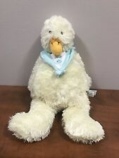 """Emmit Duck Bunnies By The Bay Baby Fish Collar Floppy Soft Beanbag Plush 15"""""""