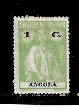 Angola Stamp- Scott # 121/A7-1c-Mint/H-1922-OG