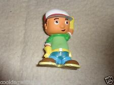"4"" PVC HANDY MANNY   WEARING   HIS TOOL BELT &  WORKING CAP GREAT FOR COLLECTION"