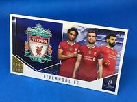 TOPPS BEST OF THE BEST 2020-21 20/21 SUPERSIZE CLUB CARDS LIVERPOOL