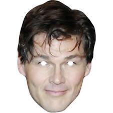 Morten Harket Singer A-ha Celebrity Card Mask - All Our Masks Are Pre-Cut!