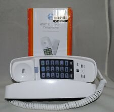 AT&T Trimline Telephone 210 With 13 Number Memory White