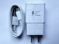 Fast Rapid Wall Charger+Charging Cable Cord For Samsung Note 8 9 10 Plus