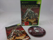 Gladiator Sword Of Vengeance Microsoft Xbox 2003 DVD Box PAL