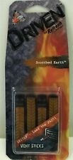 Car Air Freshener / Driven By Refresh Scorched Earth Vent Clip Sticks -4 Pieces