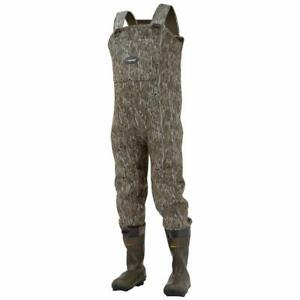 Frogg Toggs Amphib Neoprene Bootfoot Camo Chest Wader Cleated Outsole Mossy O...