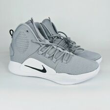Nike Hyperdunk X Mens Size 10 Gray White Basketball Shoes AT3866-003 Zoom Sports