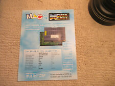 odd size 11- 8.5''  mlc system skull fang data east   ARCADE GAME FLYER