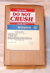 NEW Westinghouse AA43A Thermal Overload Relay 3 Pole Size 4 SEALED BOX