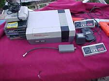 Nes Nintendo Console 2 Controllers Joystick 1 Gun 6 Games Super Mario Lot