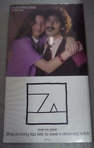 Original Frank & Moon Zappa - Valley Girl 1982 US Promo Only Poster