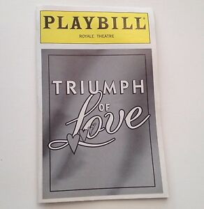 Playbill Triumph of Love 1997 Betty Buckley Royale Theatre Broadway