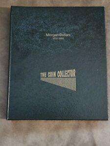 The Coin Collector Album Silver Morgan Dollars 1 One D Book Hardcover 1878-1890