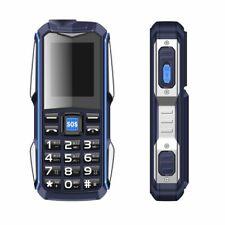 Power Bank Cell Phone Sound MP3 Flashlight Bluetooth Voice Shockproof 2 SIM Card