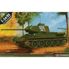 """Academy 1:35 T-34/85 """"112 Factory Production"""" Model Kit #13290~Mint in Box"""