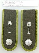 #e3610 1 paia DDR NVA spalla pezzi paese forze armate bausoldat n. 2 B