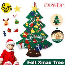 Felt Xmas Tree Set DIY with Removable Ornaments Xmas Hand Craft Party Decoration