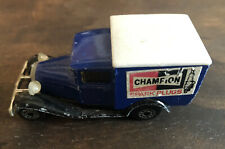 1979 Matchbox Superfast Lesney Model A Ford Champion Spark Plugs Delivery Truck