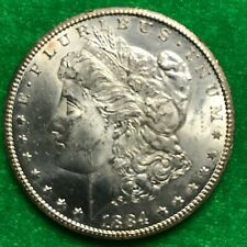 1884 - Cc Morgan Silver Dollar. See Other Items.